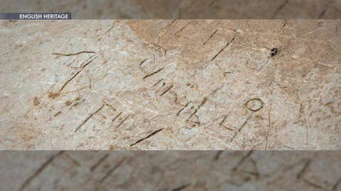 Found: 1,300-year-old writing on a rare stone
