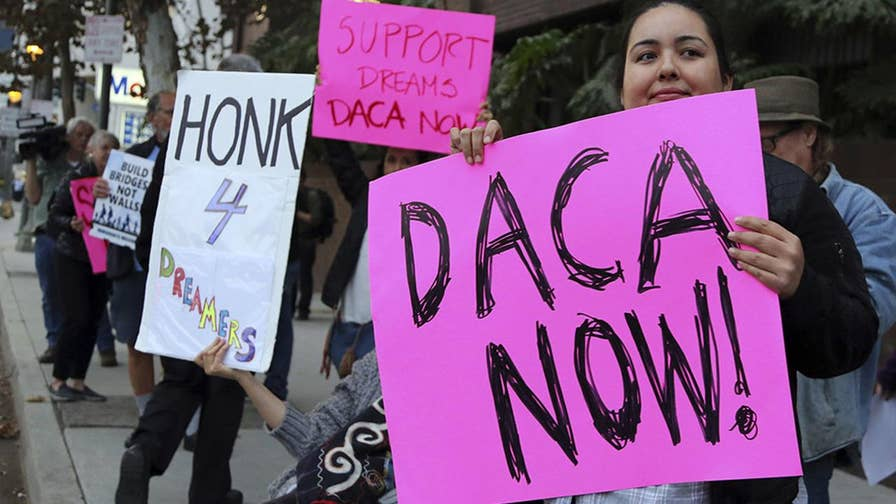 Exclusive: Agency releases never-before-seen data on DACA applicants; U.S. Citizenship and Immigration Services Director Francis Cissna explains on 'Fox & Friends.'