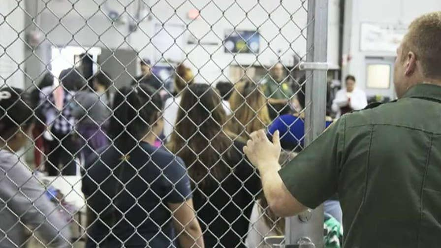 President Trump points finger at Democrats for not fixing 'world's worst immigration' laws amid controversy over separating families at the border; Kevin Corke reports from the White House.