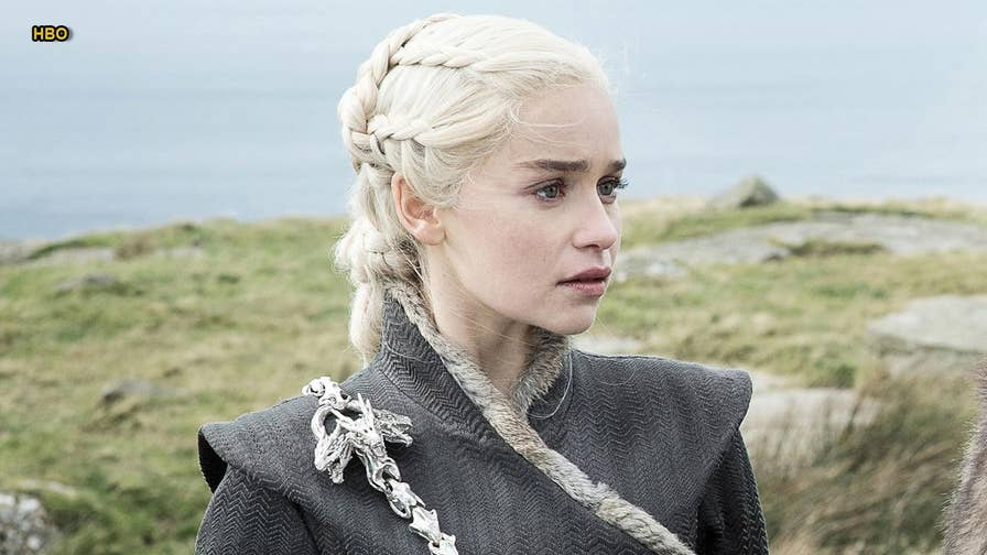 Emilia Clarke paid tribute to HBO's 'Game of Thrones' in an emotional farewell Instagram post. Clarke, who stars as Daenerys Targaryen on the hit show, shared an image of herself from one of the filming locations for the final season.