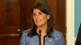"The Trump administration announced Tuesday it was withdrawing the U.S. from the United Nations Human Rights Council, with U.N. Ambassador Nikki Haley calling the 47-member council ""a protector of human rights abusers, and a cesspool of political bias."""