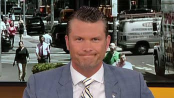 On 'Outnumbered,' One Lucky Guy Pete Hegseth says bringing a child to the U.S. border is like bringing a shield.