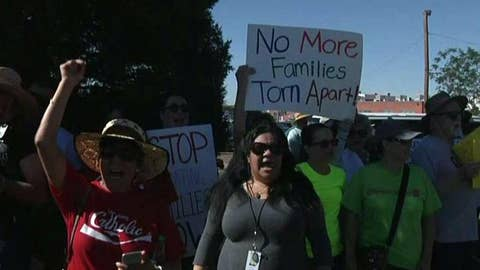 WATCH: March for immigrant rights in El Paso