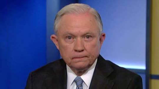 Attorney general goes on 'The Ingraham Angle' to discuss the border controversy. Sessions also addresses subpoenaed documents.