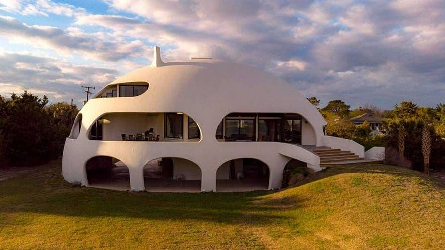 """Known as the """"Eye of the Storm"""", a home in South Carolina is selling for $4.9 million and was built to """"withstand a category 4 hurricane."""""""