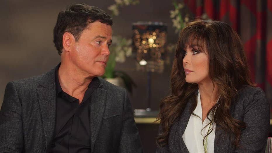 Donny and Marie Osmond celebrate 10 years in Vegas