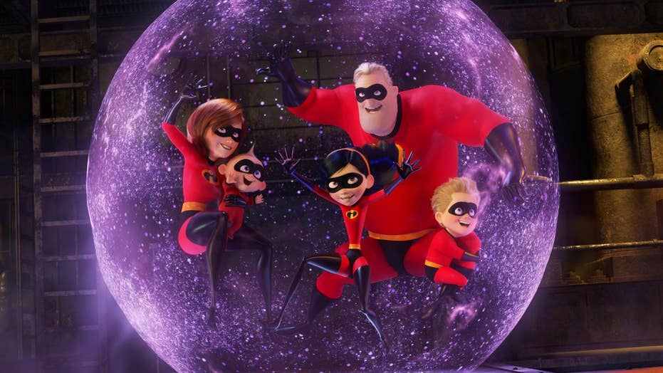 'Incredibles 2' scores massive opening weekend