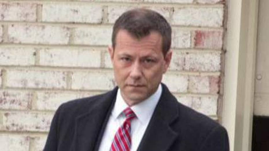 Peter Strzok escorted from FBI building