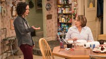 "The ""Roseanne"" spinoff that will focus on Darlene, played by Sara Gilbert, is reportedly having some issues but sources say the potential new show is still making forward progress."