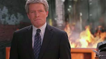 Democratic U.S. Senate candidate Richard Painter explains why his first campaign ad places him in front of a dumpster fire