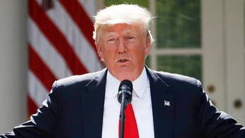 President Trump blames Democrats for inaction on immigration reform, says he is 'working on something'; chief White House correspondent John Roberts reports.