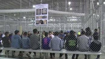 Young children are being held at detention centers after they illegally crossed the southern border; Steve Harrigan reports from Harlingen, Texas.