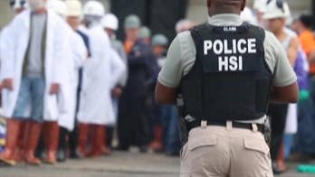 Federal agents conduct raid on meatpacking plant in Ohio following a yearlong investigation. 146 people suspected of being in the US illegally were arrested.