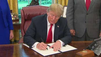 President Trump signs executive order to keep families together; chief White House correspondent John Roberts reports from Washington.
