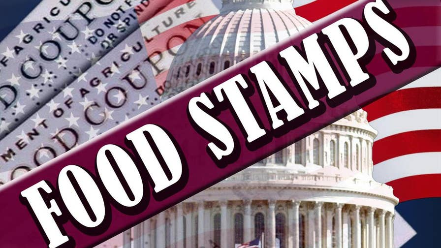 Marc Little of the Center for Urban Renewal and Education credits the drop in food stamp enrollment to policies of President Trump.