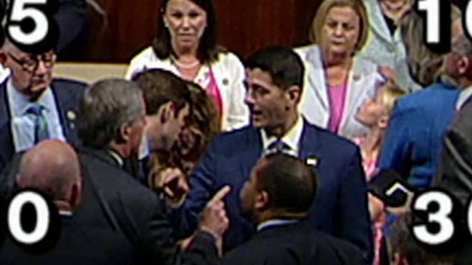 Rep. Meadows angrily confronts Speaker Ryan on House floor