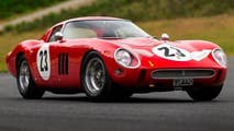A 1962 Ferrari 250 GTO is expected to be auctioned for a world record $45 million or more.
