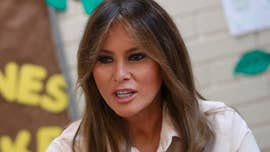 First lady Melania Trump on Thursday visited a child detention center in Texas that houses minors who entered the country illegally -- in the wake of her husband's executive order that ended the practice of separating families.