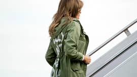 "Celebrities took to social media to blast Melania Trump for the ""I really don't care, do u?"" jacket she wore on Thursday before visiting a Texas facility housing immigrant children separated from their parents."