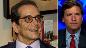 Host of 'Tucker Carlson Tonight' says there was 'no mistaking' what Charles Krauthammer meant.