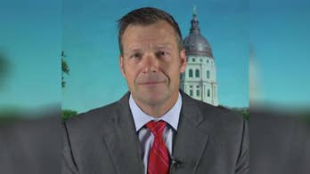 Kansas secretary of state and gubernatorial candidate explains why on 'Fox & Friends.'
