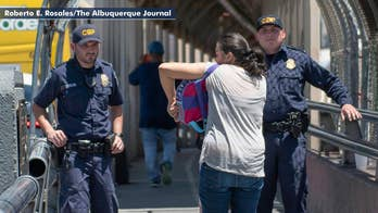 DHS: More than 2,300 children separated from their families at the border in recent weeks. Jeff Paul reports from Texas.