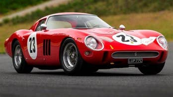 1962 Ferrari 250 GTO expected to be auctioned for world record $45 million or more