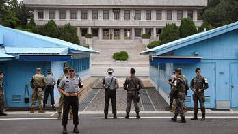 Talks aim to reunite 57,000 family members separated by Korean War; Greg Palkot reports from London.