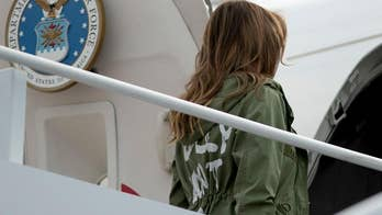 First lady Melania Trump makes surprise visit to Texas border facility; reaction on 'Your World.'