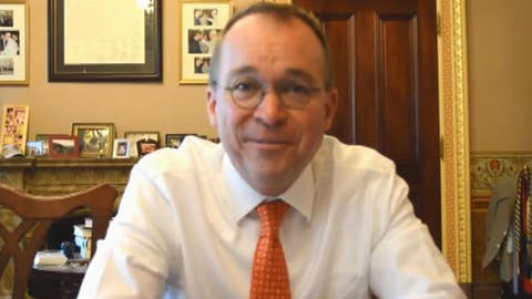 Mick Mulvaney explains plan to streamline government