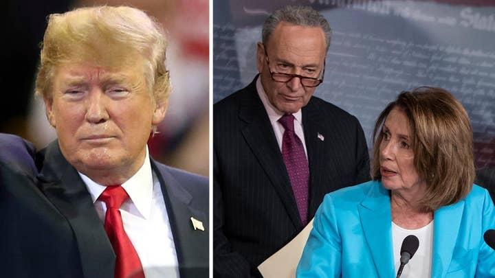 Trump: Schumer, Pelosi 'weak on crime and border security'
