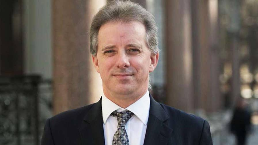 Senate testimony reveals the author of the anti-Trump dossier, Christopher Steele, met with State Department officials before the 2016 presidential election; Catherine Herridge reports.