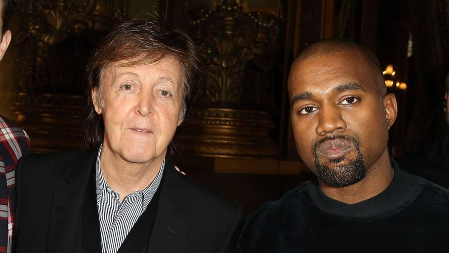 Sir Paul McCartney opened up about his experience of collaborating with Kanye West for their hit song 'FourFiveSeconds' and revealed the rapper's unique writing process.
