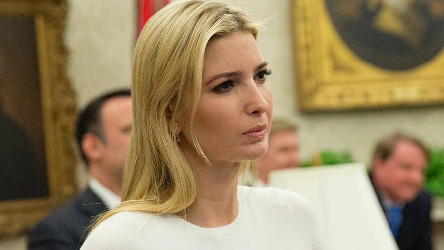 Fox News media analyst Howard Kurtz on pundits' rush to criticize President Trump's daughter.