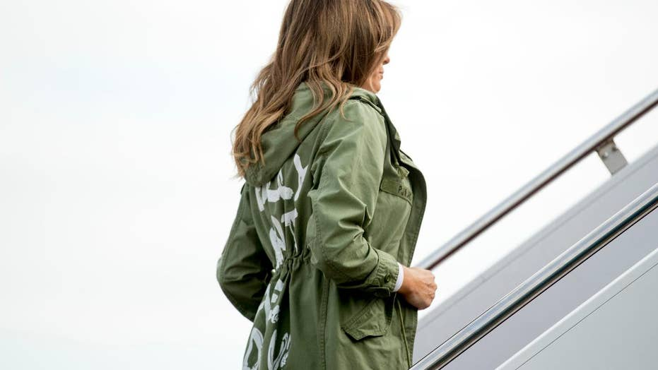 Melania Trump criticized for wearing white pith helmet in