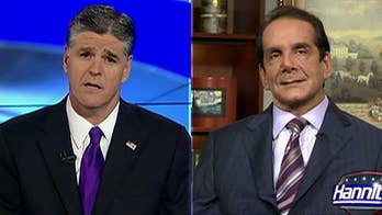 Sean Hannity shares a look back at a special moment with friend and colleague Charles Krauthammer.