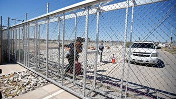 Temporary shelter for unaccompanied migrant children closed off to the public; Jeff Paul reports from outside the facility in Texas.