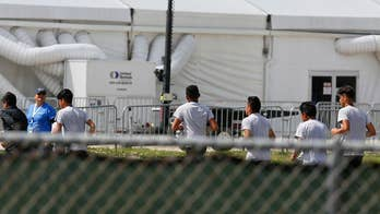 Around 1,200 kids, all between the ages of 13 and 17, are being housed at a shelter in Homestead, Florida; Phil Keating reports.