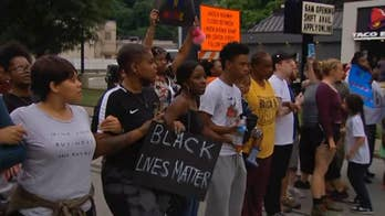 Raw video: Hundreds of demonstrators in Pennsylvania take to the streets for second night to protest the fatal shooting of 17-year-old Antwon Rose Jr.