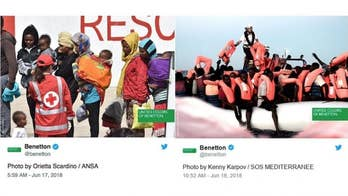 United Colors of Benetton is being slammed for using migrant children in their advertising campaign. Some Twitter users have even begun a #BoycottBenetton hashtag and say the fashion company is using migrant photos for commercial gains.
