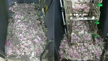 A hungry rat was found dead after eating its way through an ATM. When inspecting a broken-down machine, officials found the dead rat and 1.3 million rupees ($18,500) in chewed-up currency.