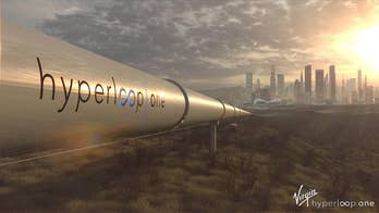 Virgin's Hyperloop One is the only company who has a legitimate test facility and a physical Hyperloop that could someday in the near future transport people from places like New York City to Los Angeles in four in a half hours. They've not only taken Elon Musk's concept and made it a reality, but they have improved it tremendously.  Fox News gets the exclusive with company engineers and directors explaining their latest updates to a near complete Hyperloop pod and track.