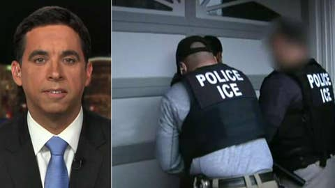 Democratic candidate defends his push to abolish ICE