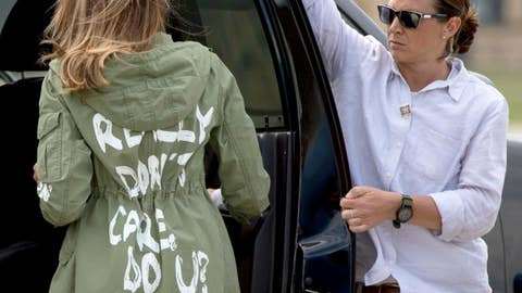 """Outnumbered"" on Melania's strange jacket choice"