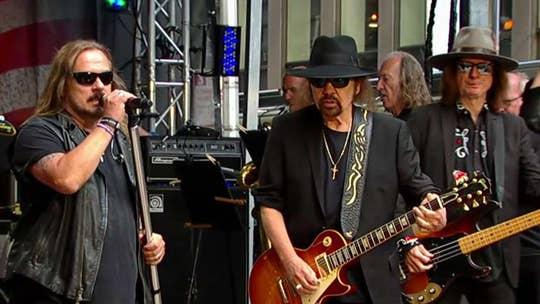 Lynyrd Skynyrd performs 'Don't Ask Me No Questions.'