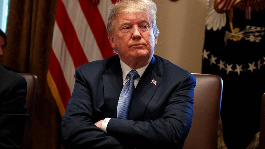 Trump blasts Democrats on immigration