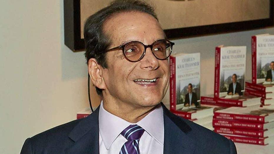 Condolences flood social media for Charles Krauthammer