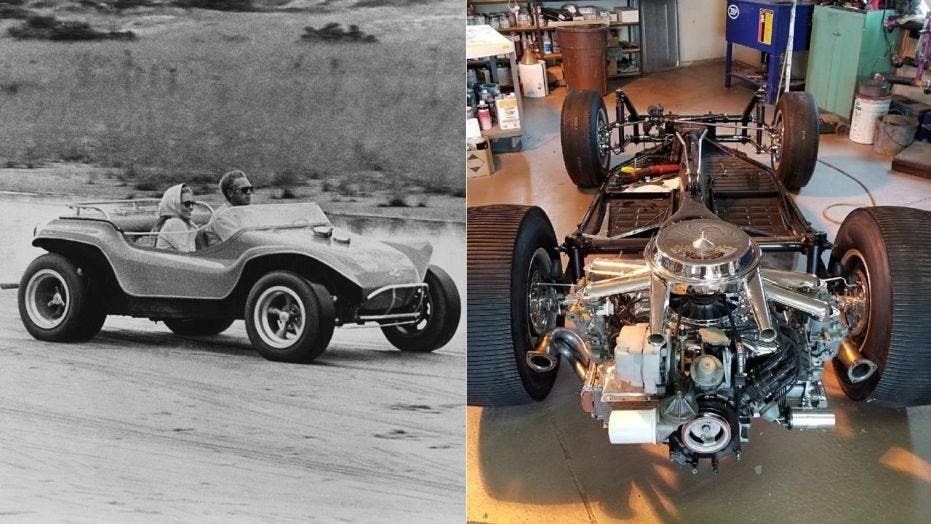 'The Thomas Crown Affair' dune buggy reappears