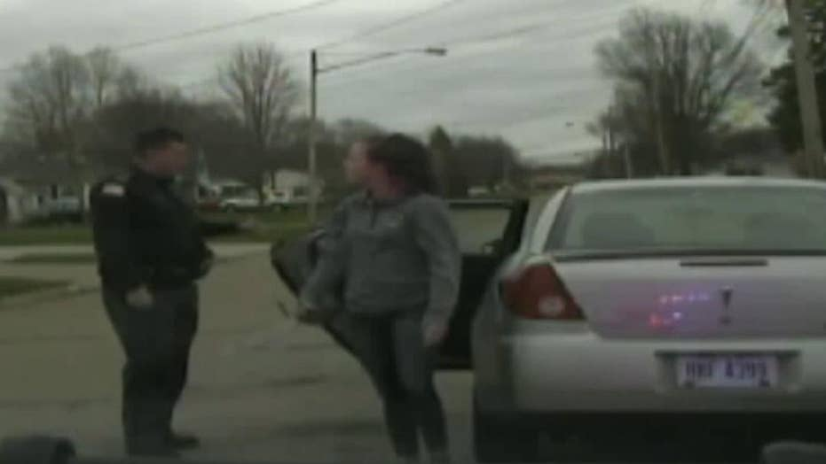 Ohio officer fired after pulling over daughter's boyfriend