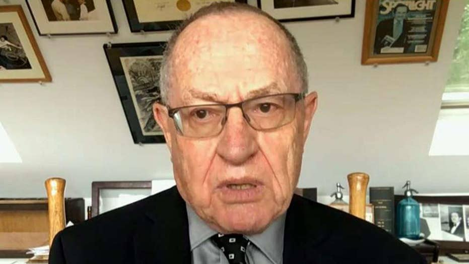 Dershowitz reacts as Mueller's approval rating declines